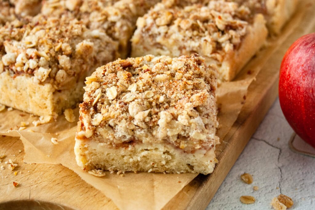 Healthy, Apple Crisp Bars