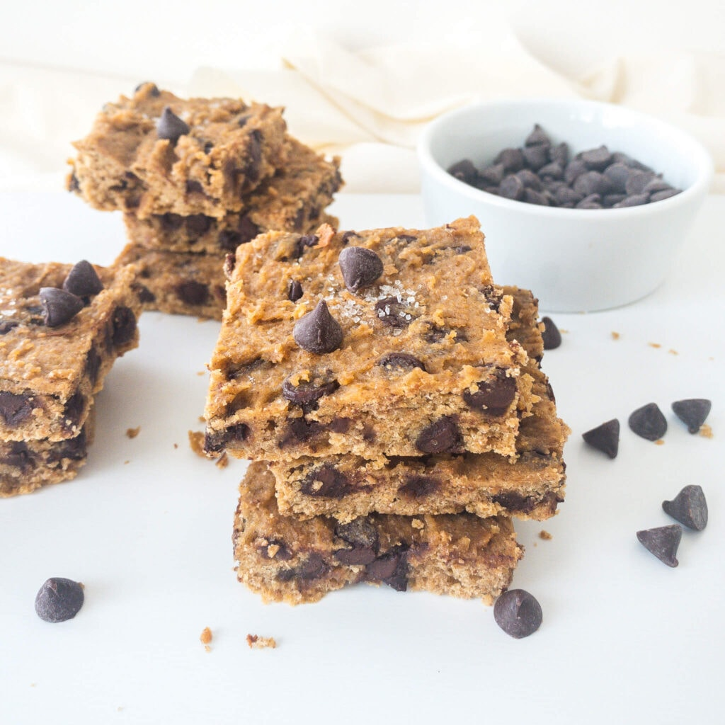 Chickpea Blondies