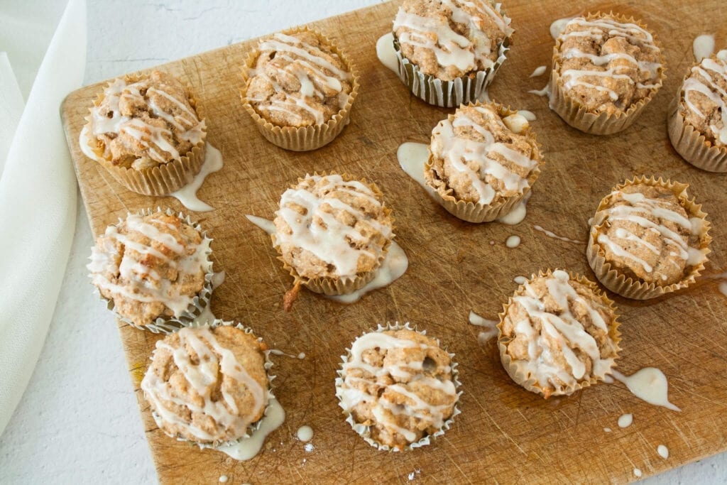 Ginger-Spiced Pear Muffins