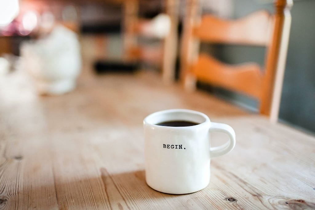 Decorative photo of a coffee mug