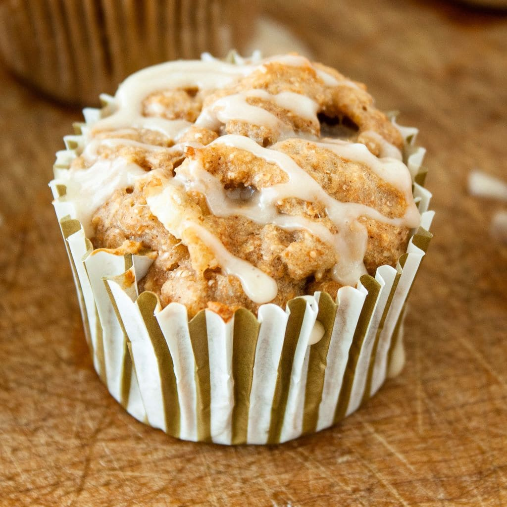 Photo of fresh pear muffins